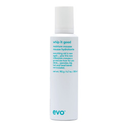 Evo Whip It Good Styling Mousse 200ml NEW