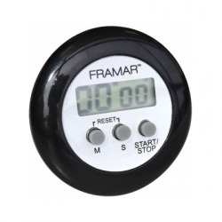 Framar DT-BLK Digital Timer Black