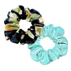 Goomee Couture Velvet Scrunchie Earth & Water