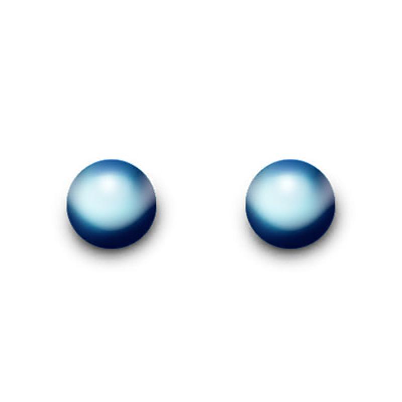 Inverness 525E Titanium Blue 4mm Ball An