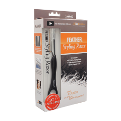 Jatai Feather Styling Razor Kit Black