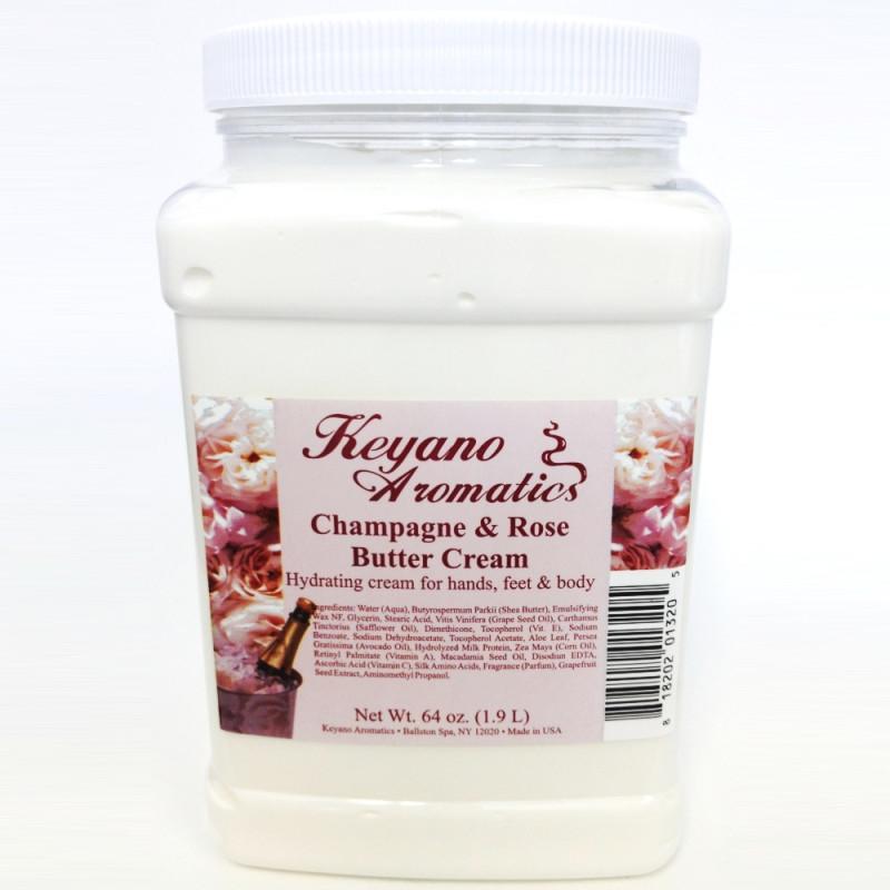 Keyano Champagne Rose Butter Cream 64oz