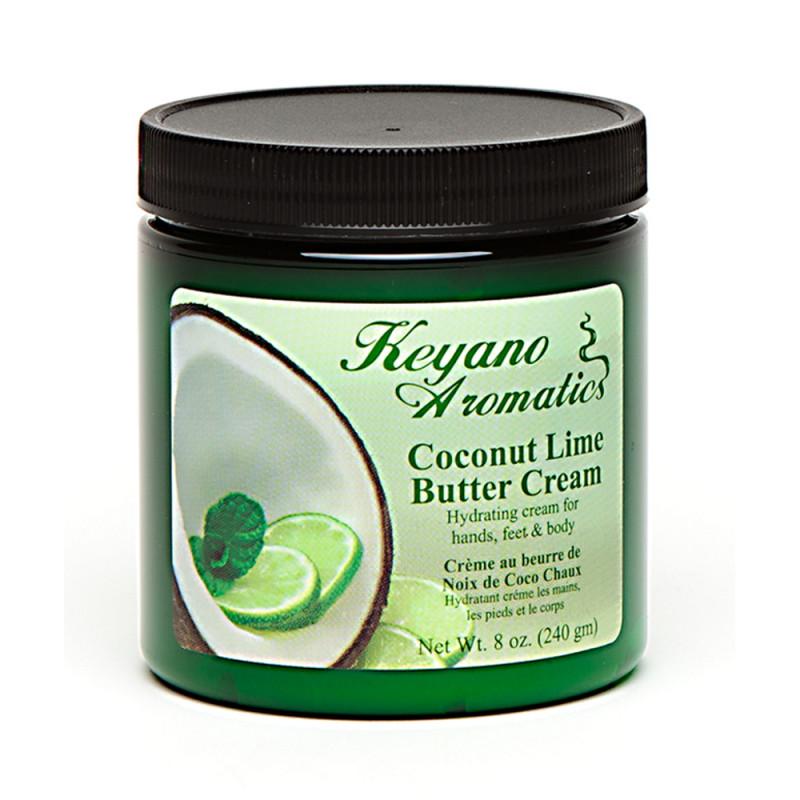 Keyano Coconut Lime Butter Cream 8oz