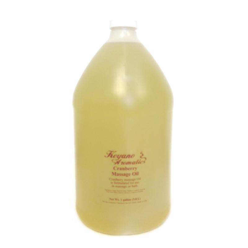 Keyano Cranberry Massage Oil Gallon