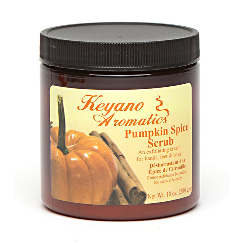 Keyano Pumpkin Scrub 10oz..