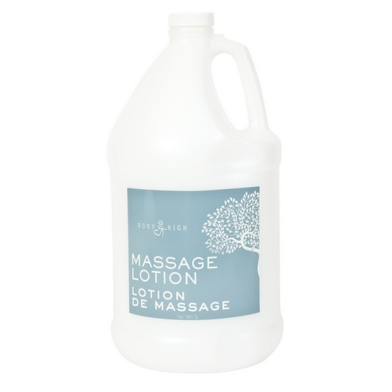 Body High Unscented Massage Lotion Gallo