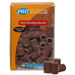 Medicool Red Sanding Band Medium SBMR (50)