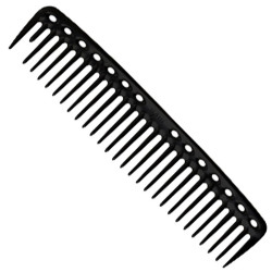 YS Park YS-452 Big Heart Cutting Comb Black