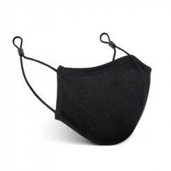 SILVADUR Anti-Microbial Cloth Face Mask Black