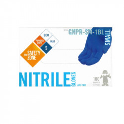 Safety Zone Blue Nitrile Gloves Small (100)