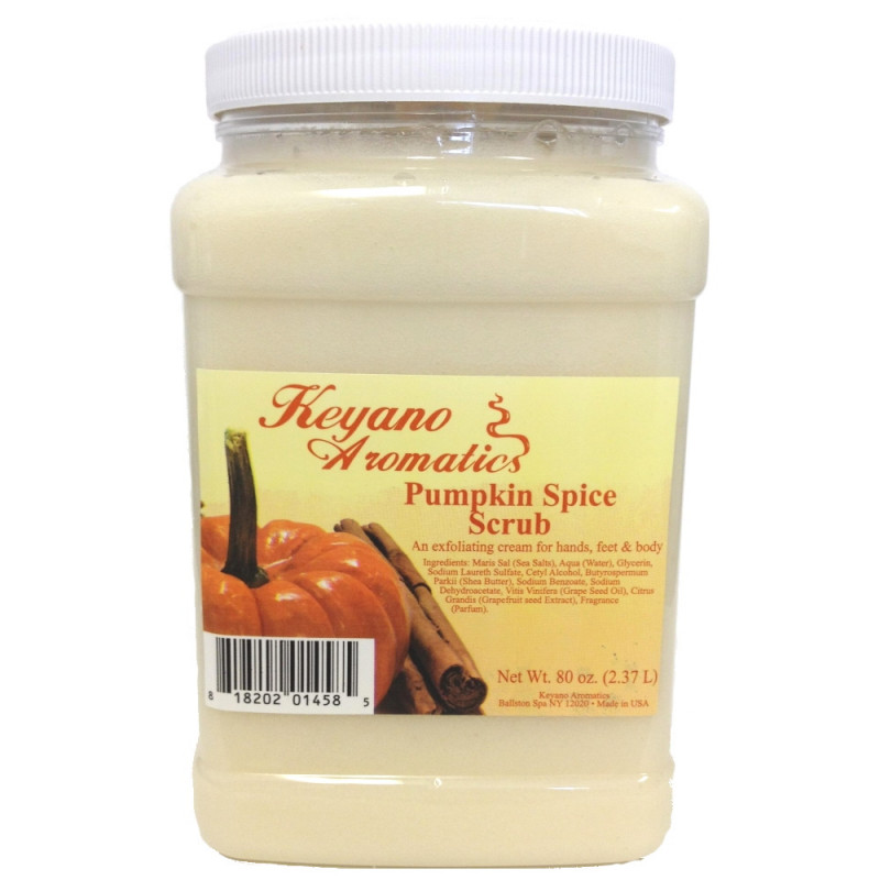Keyano Pumpkin Scrub 80oz
