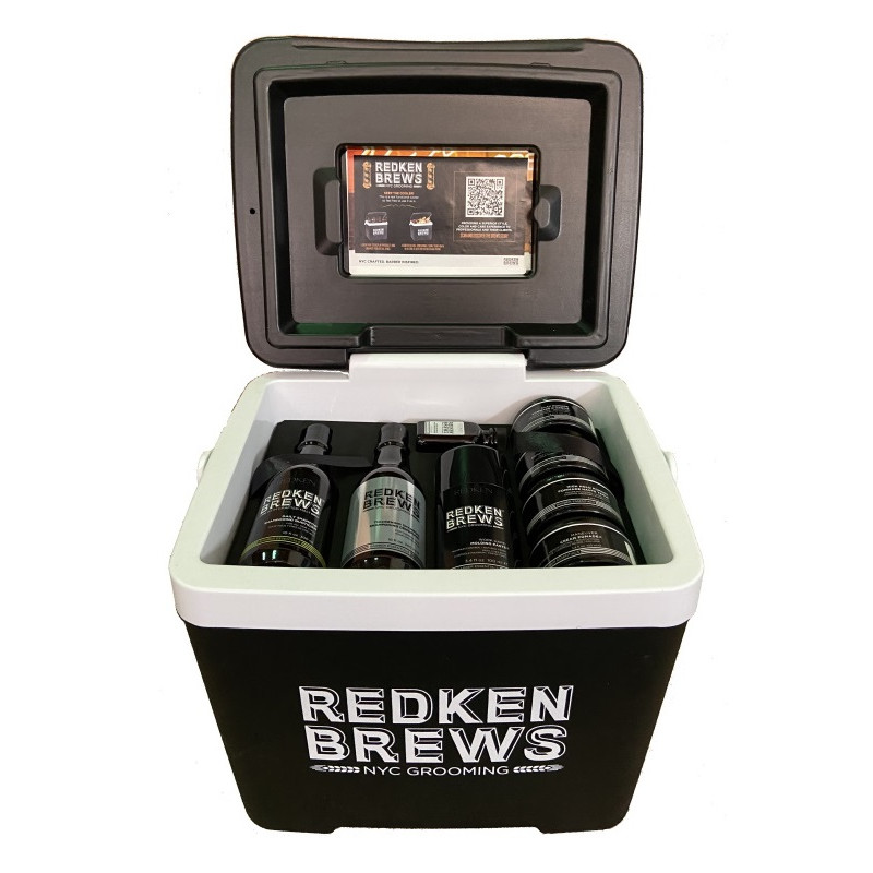 Redken Brews Promo Cooler =