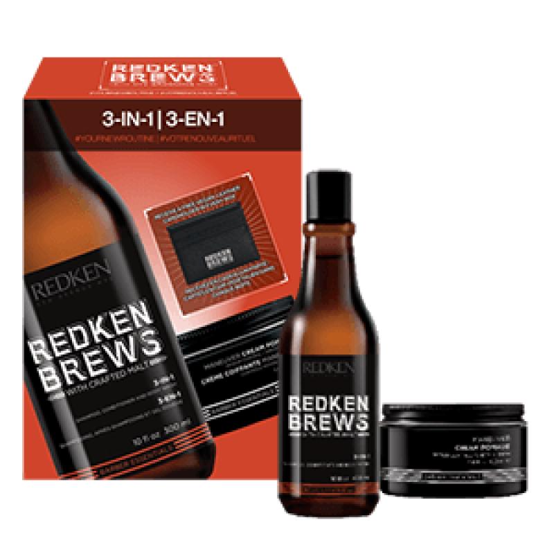 Redken Brews 3-in-1 Spring Kit