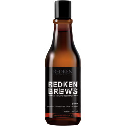 Redken Brews 3-In-1 Shampoo Conditioner Wash 300ml