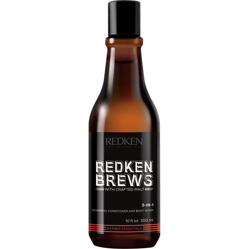 Redken Brews 3-In-1 Shamp..
