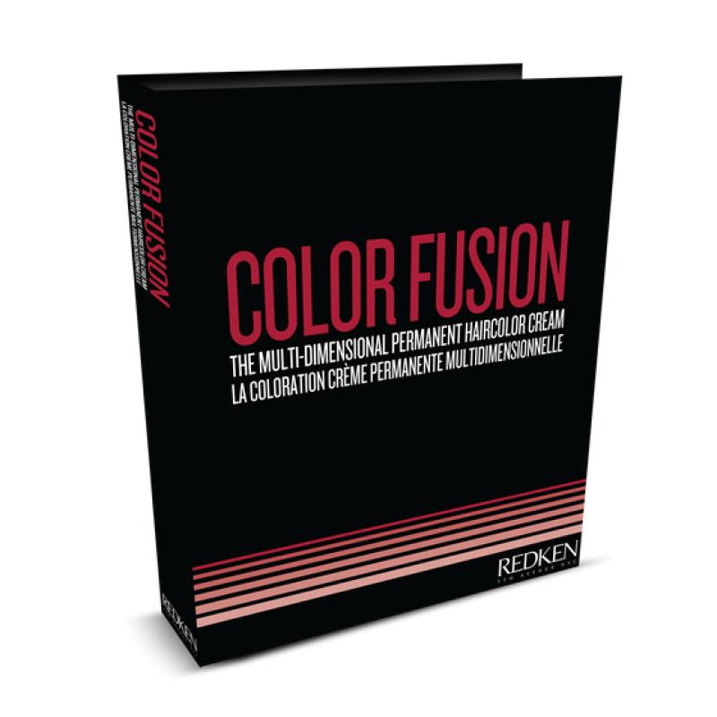 Redken Fusion Swatch Book..