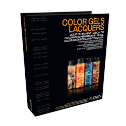 Redken Gels Lacquers Swatch Book 2021