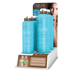 Selfie Bronzing Spray 5pc Display STGS11-504