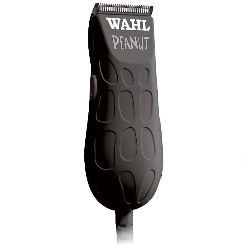 Wahl Peanut Trimmer Black w/4 guides 561