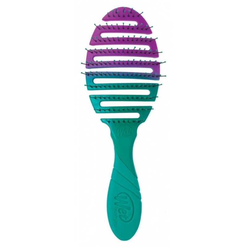 Wet Brush Pro Flex Dry Teal Ombre
