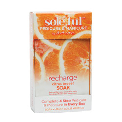 Artistic Sole-ful Recharge Citrus Breeze Soak