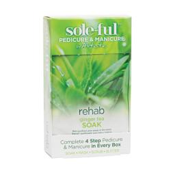 Artistic Sole-ful Rehab Ginger Tea Soak