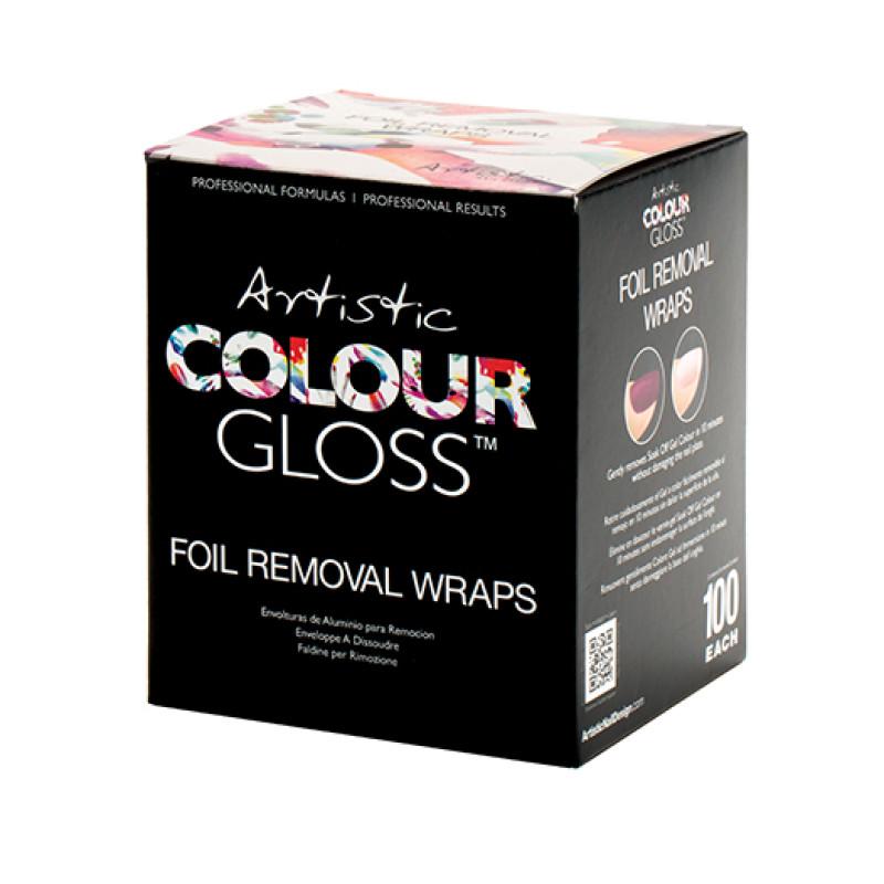 Artistic Foil Removal Wraps (100) 03351