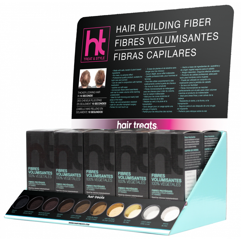 Hair Treats Fiber Empty D..