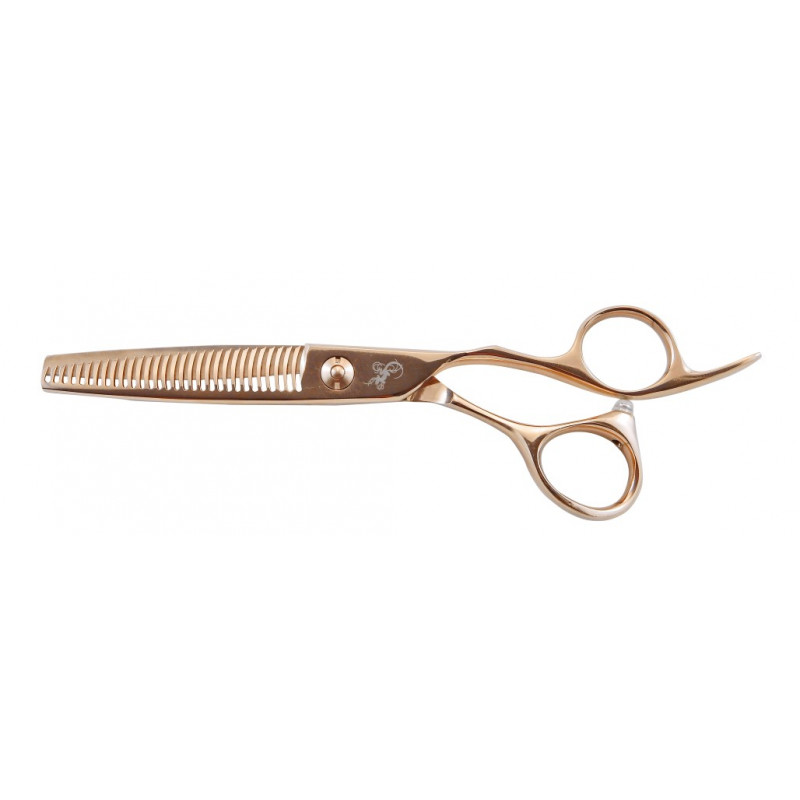 Tribal Rose Gold Thinning Shears LE