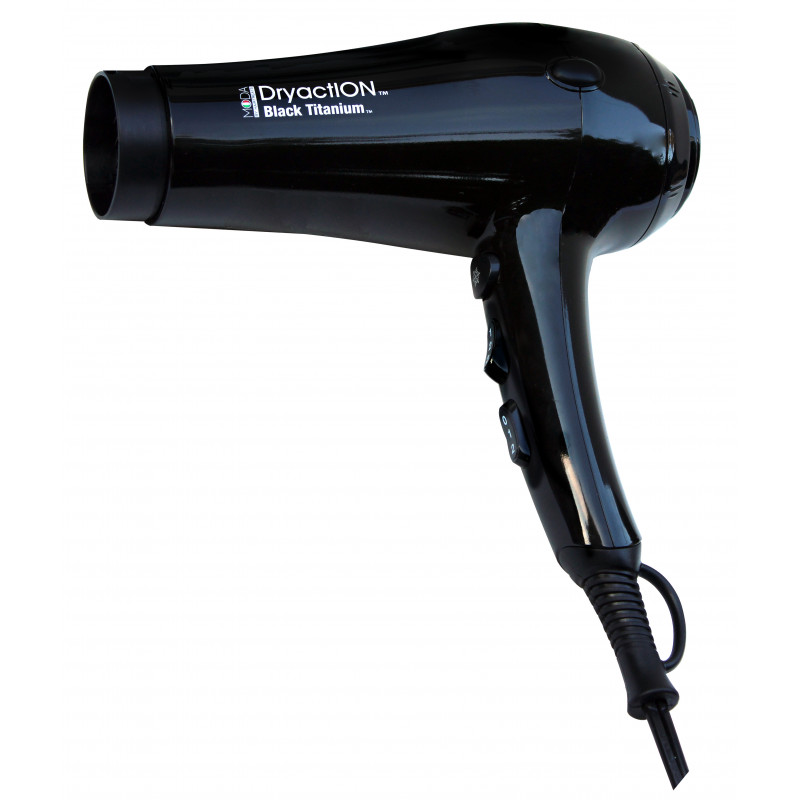 Moda HTMDA-BK Dryaction Titanium Dryer B