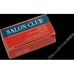 Salon Club SCBP63-BLK Black Bobby Pins 63mm