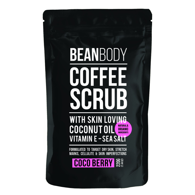 Bean Body Coco Berry Coffee Scrub*