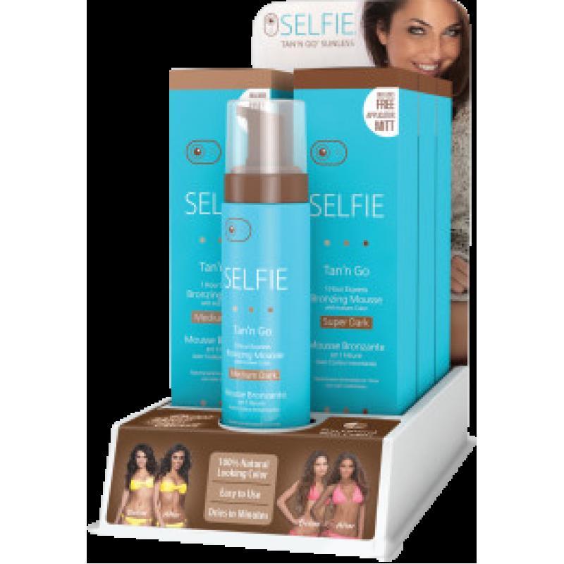 Selfie Bronzing Mousse 7pc Display STGS1