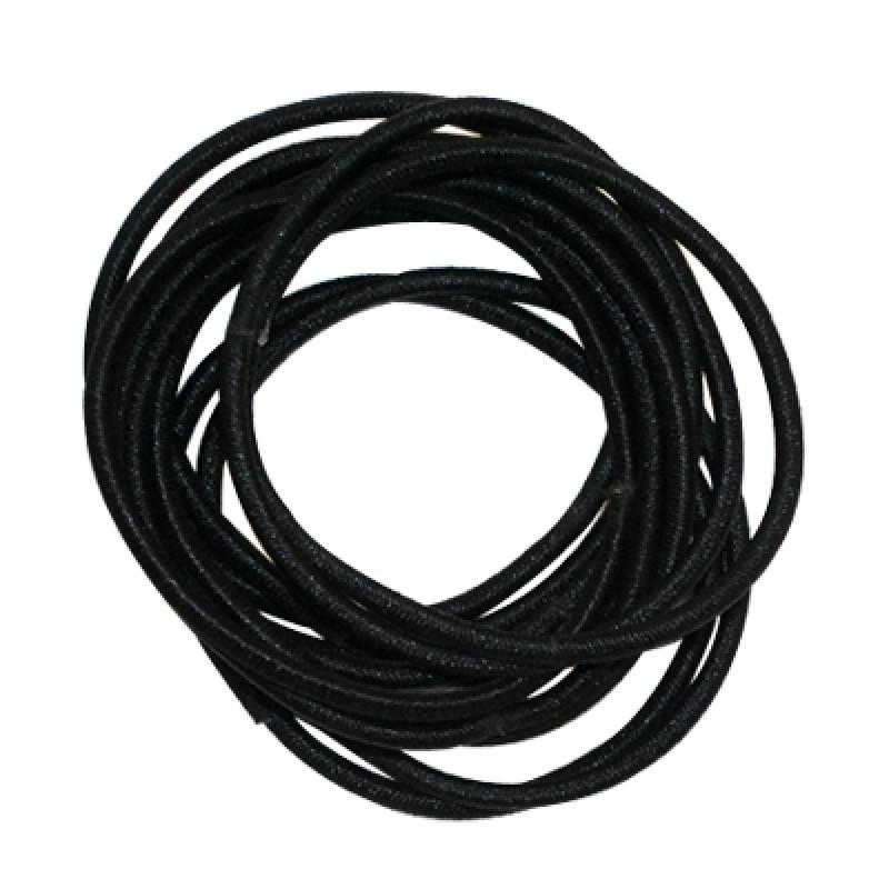 Gold Magic Black Elastic Bands (12) GM-0