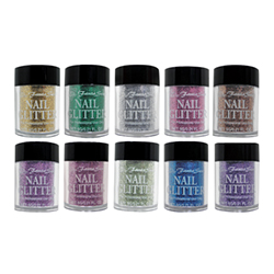 Fantasea FSC-55 Nail Art 10pc Glitter Set