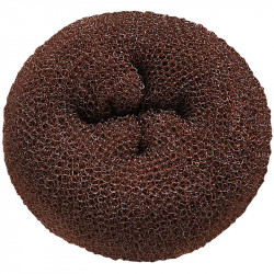 DONUT-BRC Brown Hair Donuts 3pc BESDONTBRUCC