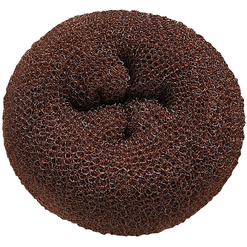 DONUT-BRC Brown Hair Donuts 3pc BESDONTB