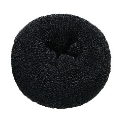 DONUT-BKC Black Hair Donuts 3pc