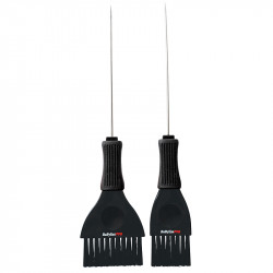 BabylissPro BES405UCC Metail Pintail Tint Brushes