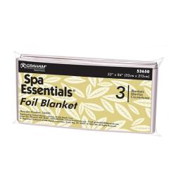 Spa Essentials 53650-BC Precut Foil Blankets (3)