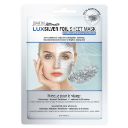 Satin Smooth SSKSFM LuxSilver Facial Sheet Mask