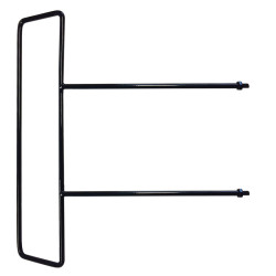 BESTWLHLDUCC Towel Holder for Mobile Tray