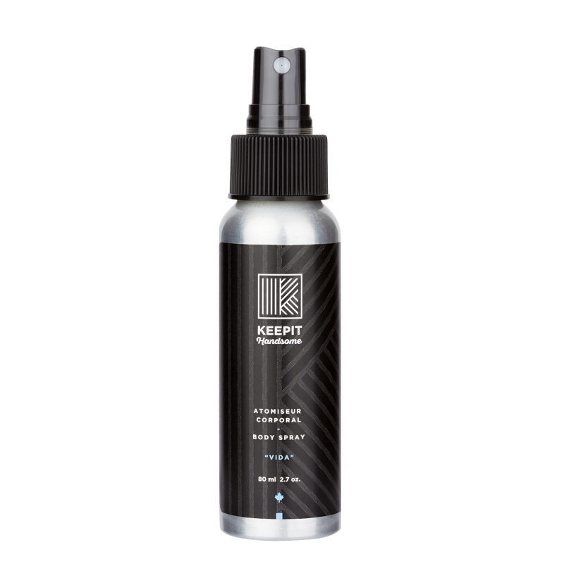 KeepIt Handsome Body Spray 80ml