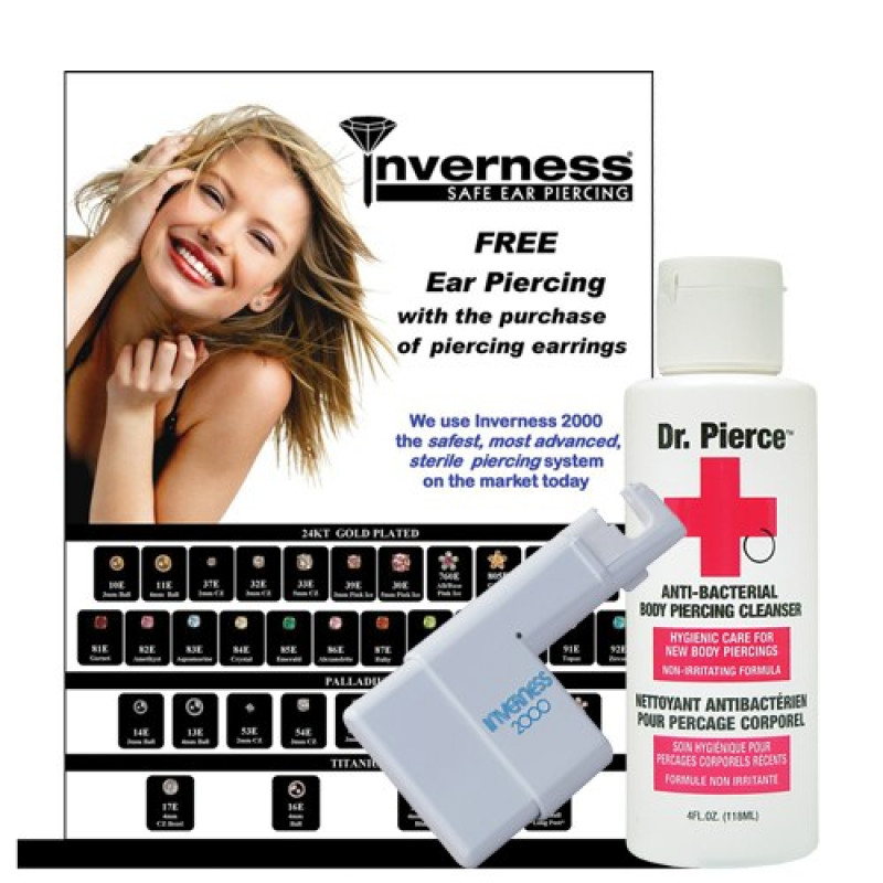 Inverness 24pc Ear Piercing Intro INV-24