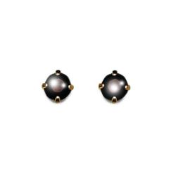 Inverness 81C 24K GP 3mm Garnet Tiffany January