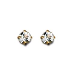Inverness 84C 24K GP 3mm Crystal Tiffany April