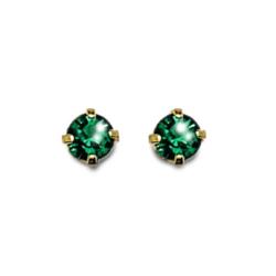 Inverness 85C 24K GP 3mm Emerald Tiffany May