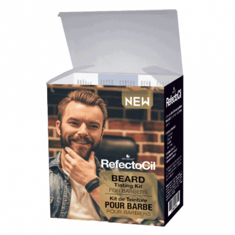 RefectoCil Beard Tinting Kit for Barbers