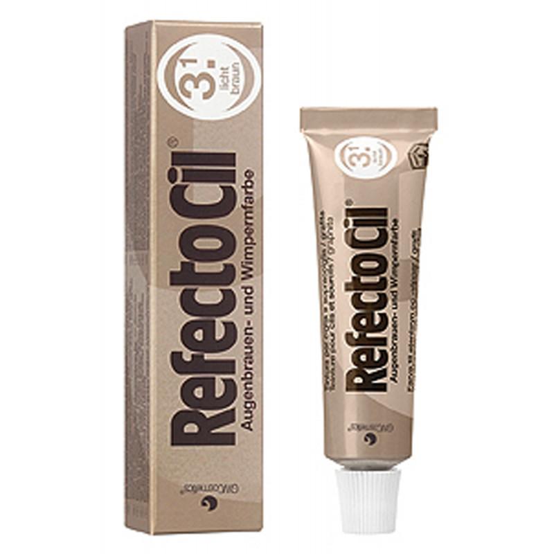 RefectoCil Tint Light Brown #3.1 15ml RC