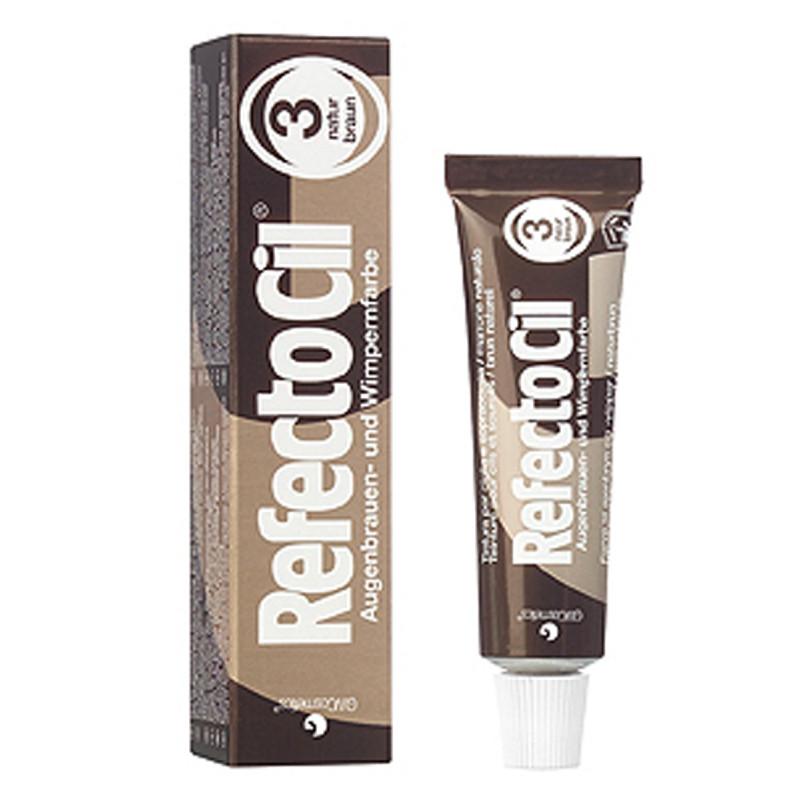 RefectoCil Tint Natural Brown #3 15ml RC